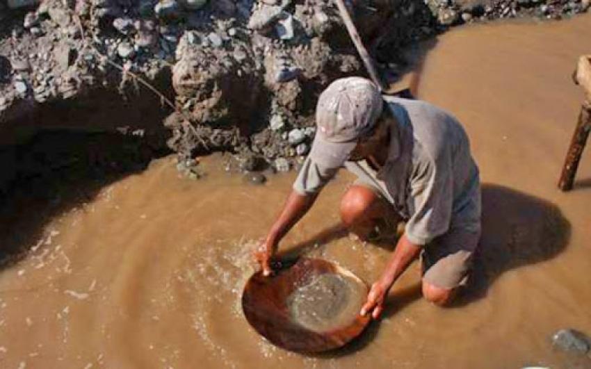 Imparable producción de oro ilegal en nuestro país